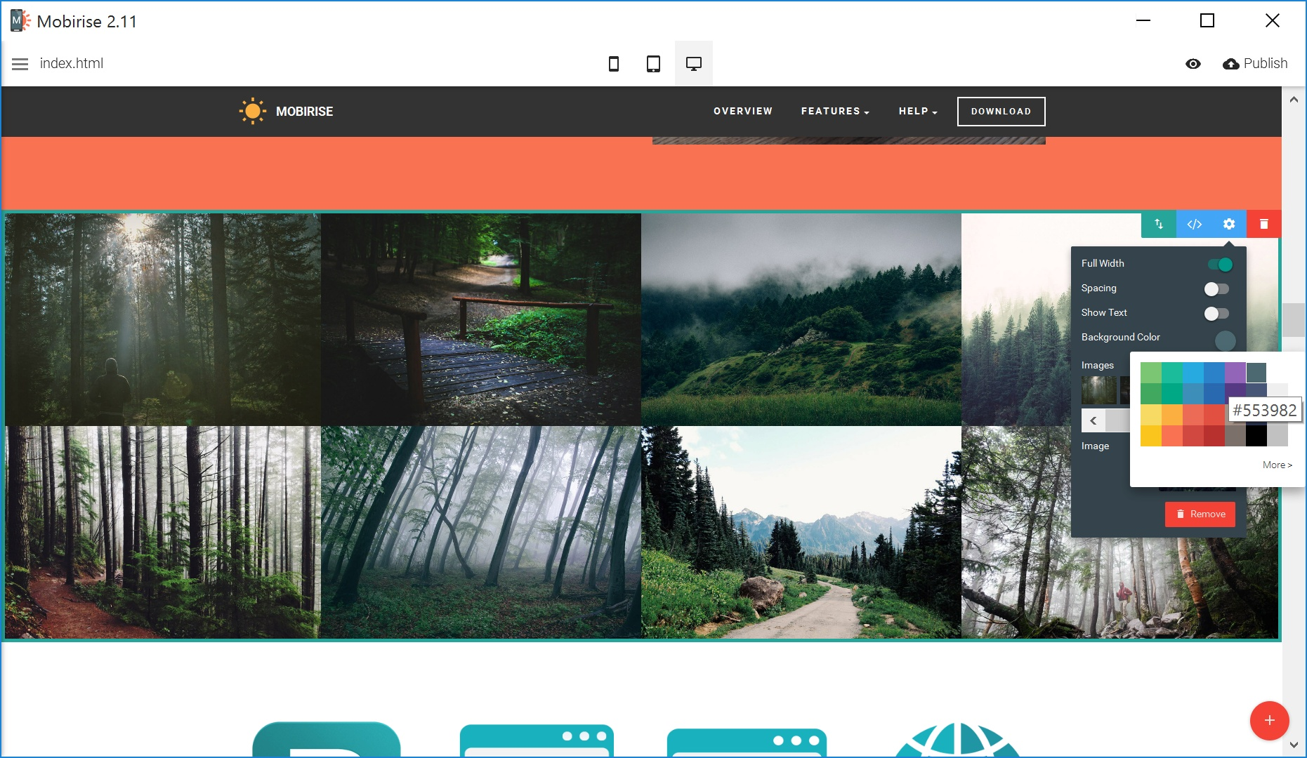 Free HTML5 Web Page  Builder Review