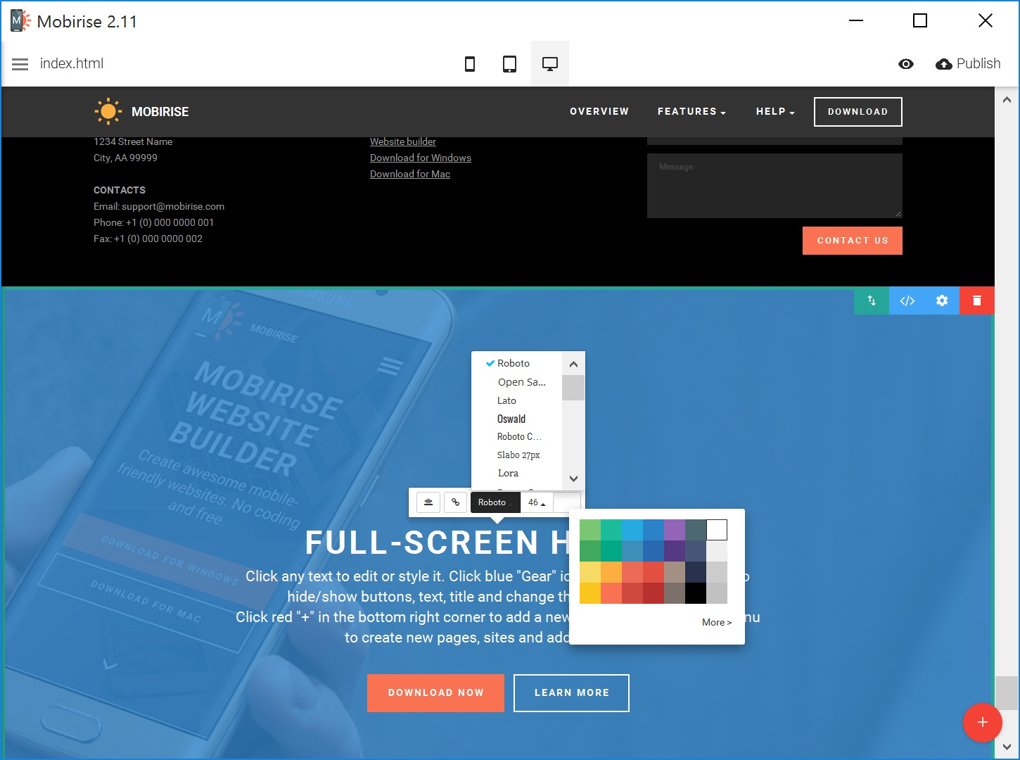 Best HTML Web Page  Creator Review