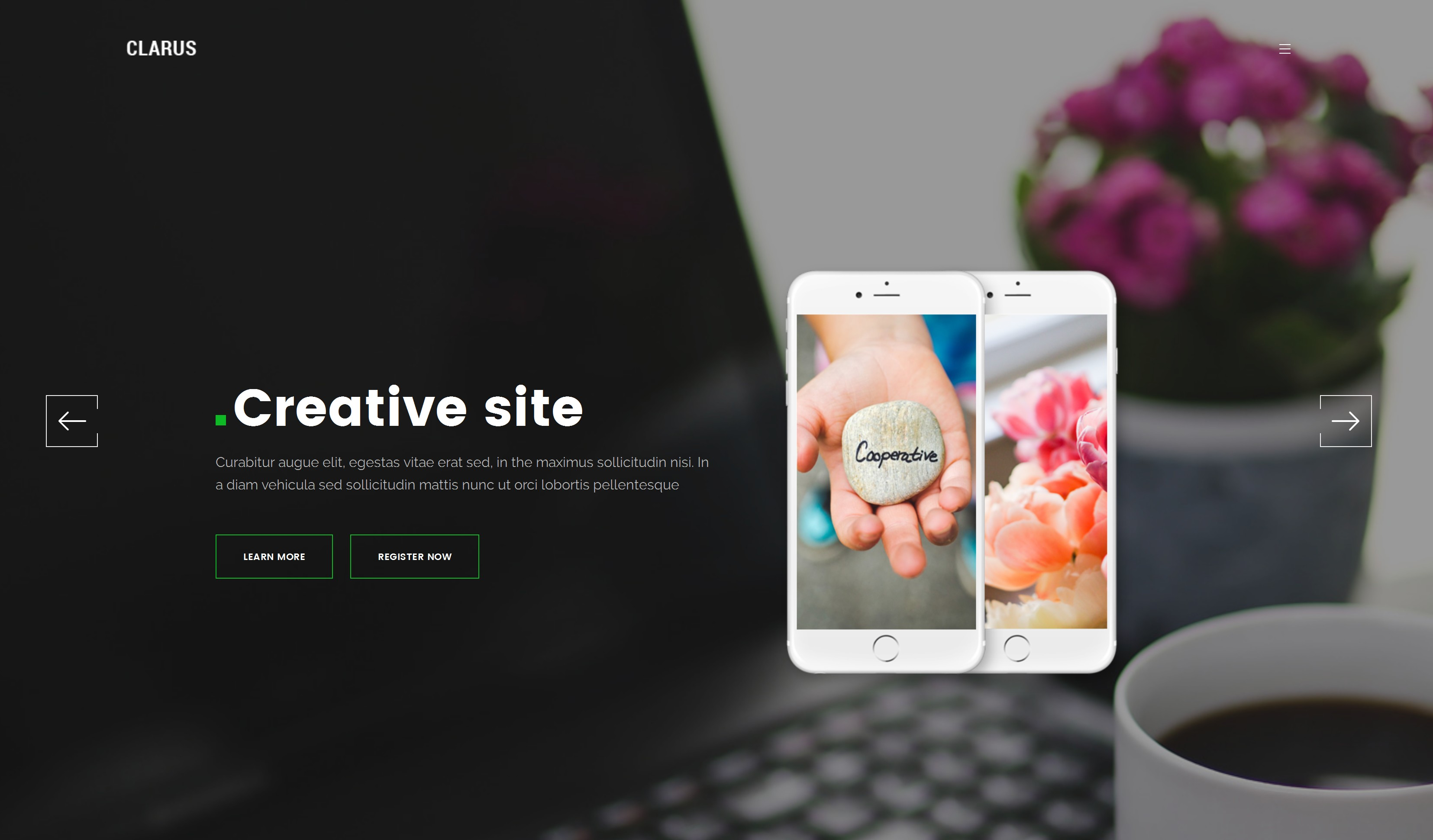 CSS3 Bootstrap Education Theme